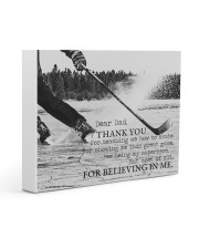 Thank you dad - Hockey Gallery Wrapped Canvas Prints tile