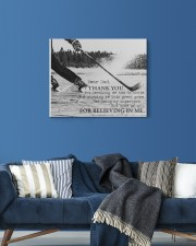 Thank you dad - Hockey 20x16 Gallery Wrapped Canvas Prints aos-canvas-pgw-20x16-lifestyle-front-06