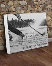 Thank you dad - Hockey 20x16 Gallery Wrapped Canvas Prints aos-canvas-pgw-20x16-lifestyle-front-21