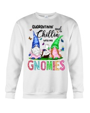 Chillin' with my gnomies Crewneck Sweatshirt thumbnail