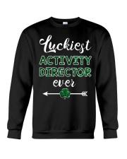 Luckiest Activity Director Crewneck Sweatshirt thumbnail