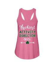 Luckiest Activity Director Ladies Flowy Tank thumbnail