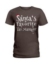 Santa's favorite Tax Manager Ladies T-Shirt thumbnail