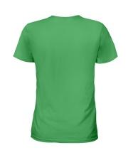 Luckiest Teacher Ever Ladies T-Shirt back