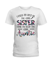 Cool Auntie Ladies T-Shirt front