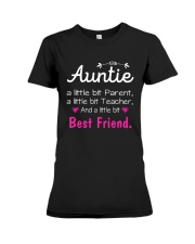 Auntie and niece best friend ever Premium Fit Ladies Tee front