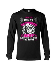 The crazy aunt loves tattoos Long Sleeve Tee thumbnail