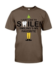 Smiling is my favorite Classic T-Shirt thumbnail
