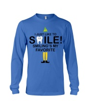 Smiling is my favorite Long Sleeve Tee thumbnail