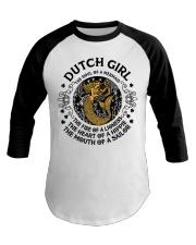DUTCH GIRL MERMAID Baseball Tee thumbnail