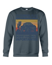 Desert Racing Crewneck Sweatshirt thumbnail