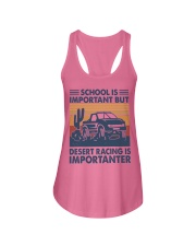 Desert Racing Ladies Flowy Tank thumbnail