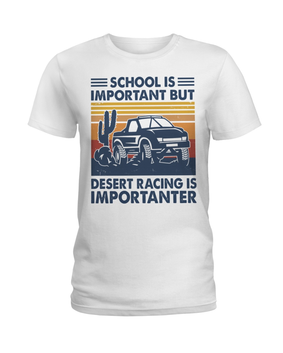 Desert Racing Ladies T-Shirt