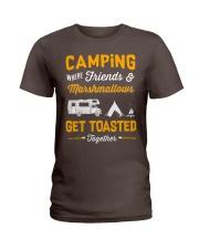 Camping get toasted Ladies T-Shirt thumbnail