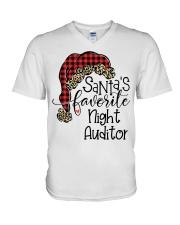 Night Auditor V-Neck T-Shirt thumbnail