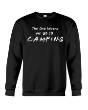 The one where we go to camping Crewneck Sweatshirt thumbnail