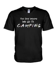 The one where we go to camping V-Neck T-Shirt thumbnail