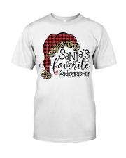 Santa's favorite Radiographer Classic T-Shirt tile