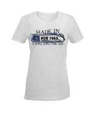 New York Ladies T-Shirt women-premium-crewneck-shirt-front