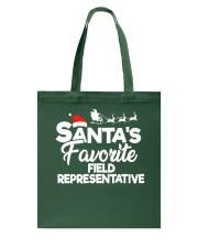 Santa's favorite Field Representative Tote Bag thumbnail