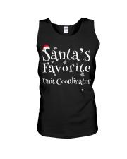 Santa's favorite Unit Coordinator Unisex Tank thumbnail