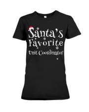 Santa's favorite Unit Coordinator Premium Fit Ladies Tee thumbnail