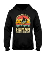 camping Hooded Sweatshirt front