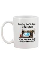 Sewing hobby Mug back