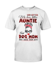 Auntie and Dog Mom Classic T-Shirt tile