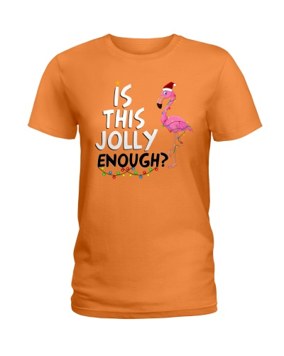 Is this jolly enough - Flamingo