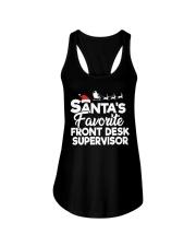 Santa's favorite Front Desk Supervisor Ladies Flowy Tank thumbnail