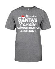 Santa's Favorite Administrative Assistant Classic T-Shirt thumbnail