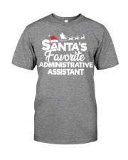Santa's Favorite Administrative Assistant Premium Fit Mens Tee thumbnail