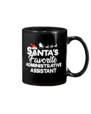 Santa's Favorite Administrative Assistant Mug thumbnail