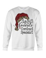 Santa's favorite Contract Specialist Crewneck Sweatshirt tile