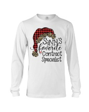 Santa's favorite Contract Specialist Long Sleeve Tee tile