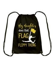 My Favorite Color Guard calls me Mom Drawstring Bag thumbnail