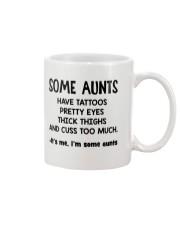 Aunt tattoos pretty eyes thick thigh cuss too much Mug thumbnail