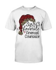Santa's favorite Financial Counselor Classic T-Shirt tile