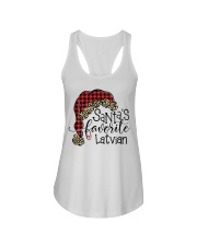 Latvian Ladies Flowy Tank tile