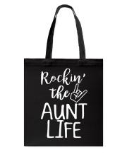 Rockin' the aunt life Tote Bag thumbnail