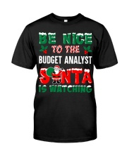 Be nice to the Budget Analyst Classic T-Shirt thumbnail