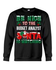 Be nice to the Budget Analyst Crewneck Sweatshirt thumbnail