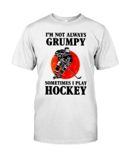 Grumpy Hockey Classic T-Shirt thumbnail