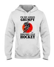 Grumpy Hockey Hooded Sweatshirt thumbnail