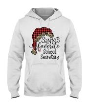 School Secretary Hooded Sweatshirt front