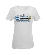 Honduras Ladies T-Shirt women-premium-crewneck-shirt-front