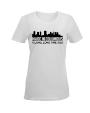 Columbus Ladies T-Shirt women-premium-crewneck-shirt-front