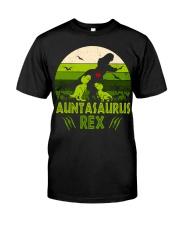 Auntasaurus Classic T-Shirt front