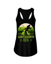 Auntasaurus Ladies Flowy Tank thumbnail
